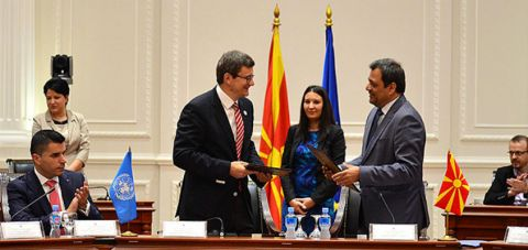FAO, Macedonia sign three-year cooperation agreement