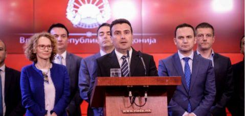 Zaev: NATO zirvesinden sonra partiler referandum için bir araya gelecek.