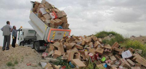 Yılın başından beri 60 ton sağlıksız gıda yok edildi