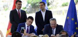 AB ve ABD'li aydınlardan Makedonya-Yunanistan anlaşmasına destek..