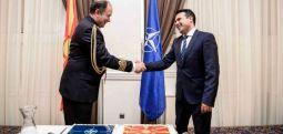 NATO'nun Üsküp temsilcisi Bartol: seneye NATO'nun 70. yıldönümünü kutlarken, bayrağınız Brüksel semalarında dalgalanacak..