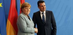 Germany's Merkel to visit Skopje on Saturday