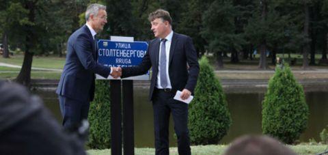 Street near Skopje stadium to be named after Norwegian diplomat Thorvald Stoltenberg