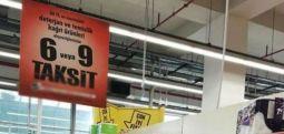 6 taksitte tuvalet kağıdı satışı