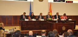 Makedonya-Avrupa Birliği ortak komitesinin toplantısı Makedonya'ya destek giderek artıyor..