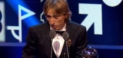 Modriç fudbollisti më i mirë i FIFA-s për vitin 2018
