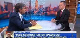 """Rahip Brunson ABD medyasına konuştu:""""Gülen Hareketi mensupları ile 8 kişilik koğuşta 20 kişi kalıyorduk"""""""