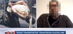 Siyah Transporter ile kaçırıldı