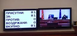 MANŞET  Parlamento NATO ve AB üyeliğinin önünü açtı..