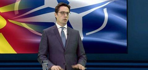 Pendarovski: 2020'nin ilk çeyreğinde NATO üyesi olacağız..