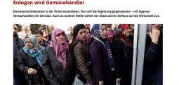 Almanlara göre 'Erdoğan Manav oluyor'