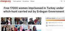 Uluslararası imza kampanyası; 17 bin tutuklu masum kadın ve çocuğu serbest bırakın!