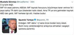 IMF Türkiye'den borç istedi mi? Nedir bu işin aslı