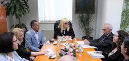 Средба Дескоска – Прибе за реформите во правосудството