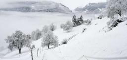 -9 gradë, mot i keq dhe me dëborë në Maqedoni