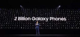 10 yılda 2 milyar 'Galaxy' satılmış