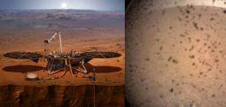 InSight Mars'tan hava durumu bildiriyor: Kış hayli sert geçiyor!