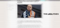 Times: 6 Türk vatandaşı Erdoğan'ın talimatıyla Kosova tarafından yasa dışı bir şekilde Türkiye'ye gönderildi