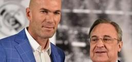 Zidane, 10 ay sonra tekrar Real Madrid'in başında