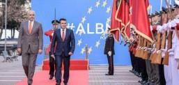 Заев во официјална посета на Албанија