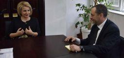 Ambasadori bullgar Angel Angelov, vizitoi Tetovën