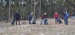 Акција за чистење на Парк-шумата Гази Баба