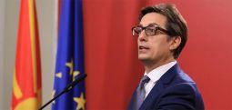 Pendarovski e shpalos sloganin e fushatës për zgjedhjet presidenciale në Maqedoninë e Veriut