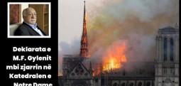 Deklarata e Fethullah Gylenit mbi zjarrin në Katedralen e Notre Dame