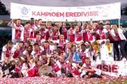 Avrupa'da devler ligine yarı finalde veda eden Ajax, lig şampiyonu olarak moral buldu
