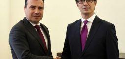 Presidenti Pendarovski, takon kryeministrin Zoran Zaev