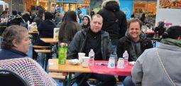 Avrupa'da sokak iftarlarına büyük ilgi