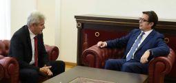 Пендаровски – Ахмети: Сите политички фактори да се насочат кон помирување и обединување околу стратешките цели