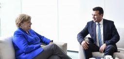 Меркел – Заев: Скопје го испорача очекуваното, Берлин ќе даде зелено светло за преговори во септември