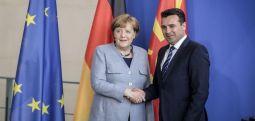 Takimi Merkel- Zaev, nuk jepen detaje