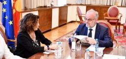 Xhaferi, takon përfaqësuesit e Projektit për praktikë parlamentare, Lindje – Perëndim