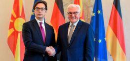 Пендаровски-Штајнмајер: Цврста поддршка од Германија за интеграцијата на Северна Македонија во ЕУ и во НАТО