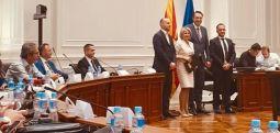 Arifi: Nënshkrimi i marrëveshjes për ndërtimin e murit mbrojtës në rrugën e Banjës