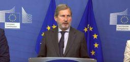 Eurokomisari Han javën tjetër viziton Shkupin