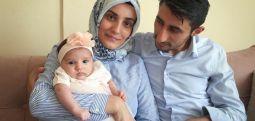 Türkiye'nin en küçük 'tutuklusu' Safiye bebek özgür!