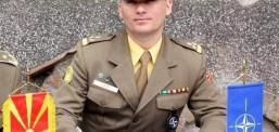 Besnik Emini, komandanti i parë shqiptar në ARM
