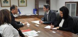 Ministri Nuredini shqyrton përvojat gjermane për menaxhimin e mjedisit