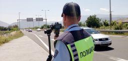 Девет сообраќајки, издадени 131 казна вчера во Скопје