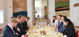 Osmani dhe Dimitrov  në Danimarkë, flasin për reformat