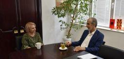 Ambasadori slloven  në Maqedoni, z.Milan Jazbec sot vizitoi Tetovën