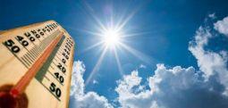 Mot me diell dhe i ngrohtë deri në 39 gradë