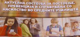 Истражување: Средношколците потврдуваат постоење врсничко насилство, нема механизам за превенција