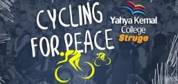 """Nxënësit  dhe mësimdhënësit nga """"Jahja Kemal"""" kanë vozitur biçikleta me rastin e shënimit të """"Dita e Paqes"""""""