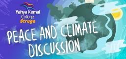 """ShMP """"Jahja Kemal"""", organizoi debatin për paqe dhe ndryshimet klimatike ndërmjet shkollave të mesme nga Struga dhe Ohri (VIDEO-FOTO)"""
