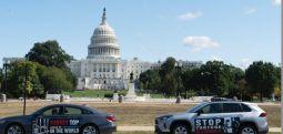 ABD'nin başkentinde 'tutsak bebekler' ve 'düşünce mahkumları' için sokak sokak gezdiler