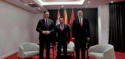 Ohër: Zaev, Rama dhe Vuçiç përcaktojnë përparësitë për bashkëpunimin rajonal